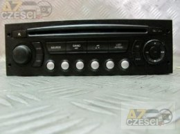 Radio fabryczne CD Peugeot 307 1.4i 16v 5D Hatchback 2006r po liftingu